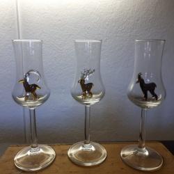 Bicchierino con stambecco