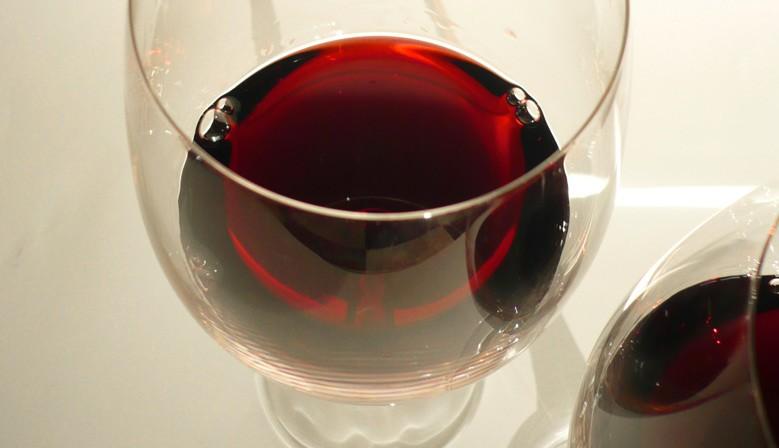 Bicchiere di rosso